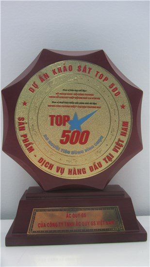 TOP 500 BEST PRODUCTS AND SERVICES IN VIETNAM - voted by Vietnamese customers