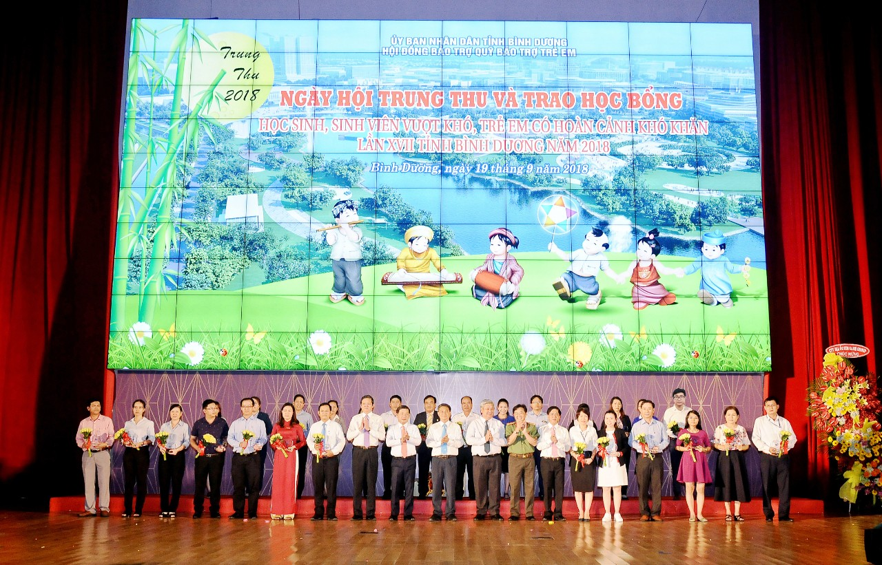 "GS BATTERY VIETNAM CO., LTD SPONSORED THE PROGRAM ""MID-AUTUMN DAY"" IN 2018"