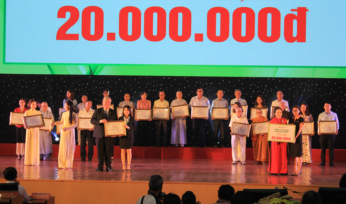 "GSV PARTICIPATED IN SPONSORING THE PROGRAM ""TET FOR THE POOR"" AND ""SPRING FESTIVAL OF 2020"""