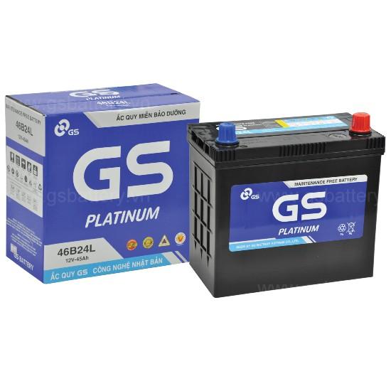 Bình điện ô tô, bình điện xe tải chất lượng Nhật Bản GS 46B24L