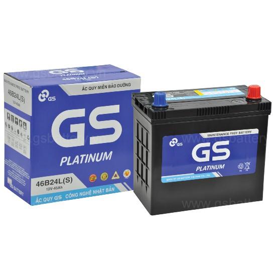 Bình điện ô tô, bình điện xe tải chất lượng Nhật Bản GS 46B24L(S)