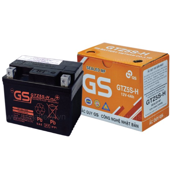 MF Battery GTZ5S-H (12V-4Ah)