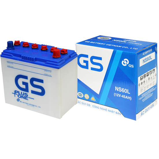 GS Battery NS60L (12V-45Ah)
